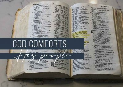 God Comforts His People