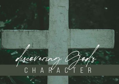 Discovering God's Character